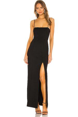 NBD Vestido largo eileen en color talla S en - Black. Talla S (también en XL, XS).