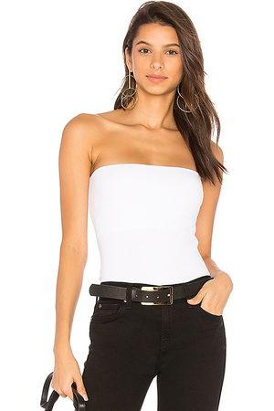 Susana Monaco Top sin tirantes en color blanco talla L en - White. Talla L (también en XS, S, M).