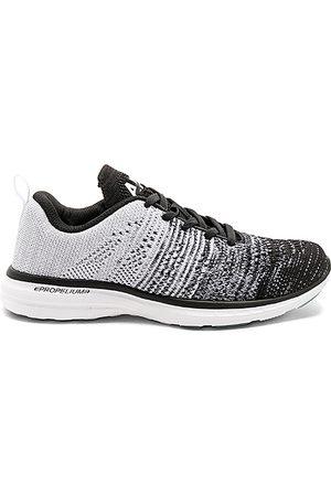 APL Athletic Propulsion Labs Zapatillas deportivas techloom pro en color blanco talla 10 en Negro gris brezo y blanco