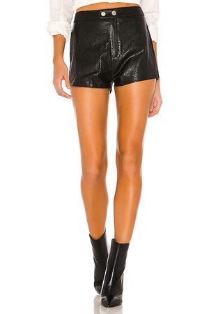 superdown Shorts rollo motero shawn en color talla L en - Black. Talla L (también en XXS, XS, S, M, XL).
