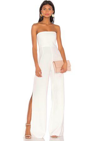 Nookie Glamour jumpsuit en color talla L en - White. Talla L (también en XS, S).