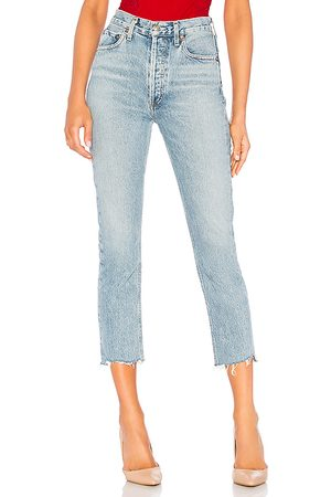 AGOLDE Jean pierna recta riley talla 24 en . Talla 24 (también en 25, 26, 27, 28, 29, 30, 31, 32).
