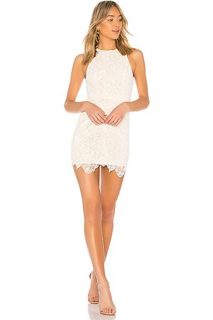 superdown Minivestido body patty en color blanco talla L en - White. Talla L (también en M, S, XL, XS, XXS).
