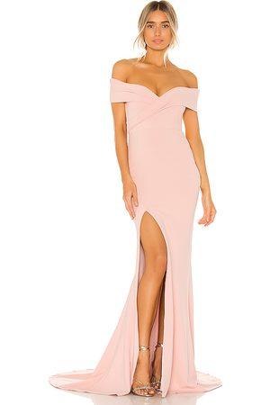 Nookie Vestido largo neptune en color rosado talla M en - Pink. Talla M (también en S, XS).