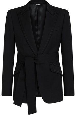 Dolce & Gabbana Hombre Blazers - Blazer con cinturón