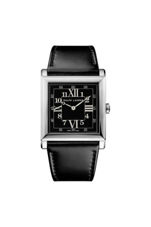Ralph Lauren Reloj RL867 de 35 mm con esfera negra
