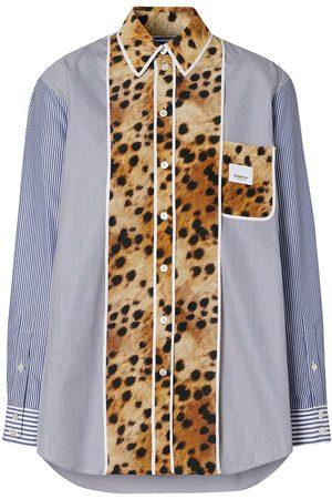 Burberry Camisa con mono estampado