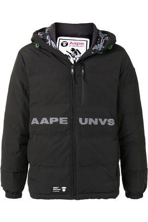 AAPE BY *A BATHING APE® Plumífero con capucha y logo