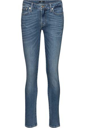 7 for all Mankind Jeans ajustados Pyper de tiro medio