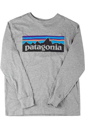 Patagonia Graphic Organic Long Sleeve T-Shirt gris