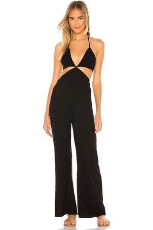 Indah Blaire jumpsuit en color talla L en - Black. Talla L (también en XS, S, M).