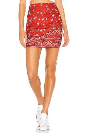 superdown Minifalda darby en color rojo talla M en - Red. Talla M (también en XXS, XS, S).