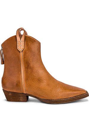 Free People Mujer Botines - Bota wesley ankle en color talla 37 en - Tan. Talla 37 (también en 36.5).