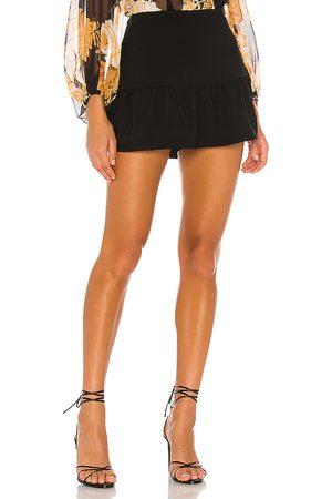 Amanda Uprichard Falda-pantalón gabbie en color talla S en - Black. Talla S (también en XS).