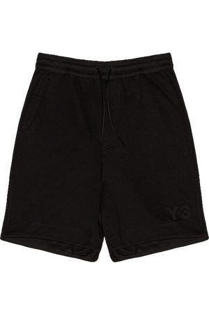 Y-3 Terry shorts en color talla L en - Black. Talla L (también en M, S, XL).