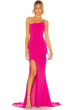 Nookie Vestido largo jasmine en color rosado talla L en - Pink. Talla L (también en XS, S, M).