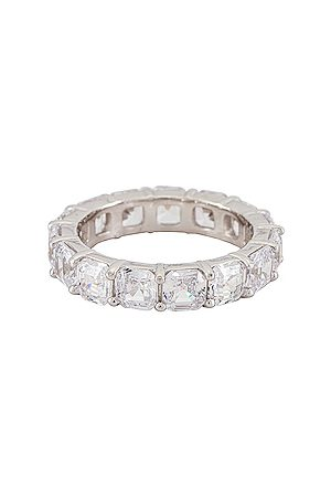 The M Jewelers Anillo en color metálico talla 5 en - Metallic Silver. Talla 5 (también en 6, 7, 8).