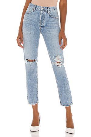 AGOLDE Jean pierna recta jamie en color azul talla 31 en - Blue. Talla 31 (también en 32).