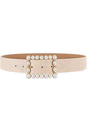 B-Low The Belt Mujer Cinturones - Cinturón joan en color crema talla S en - Cream. Talla S (también en XS).