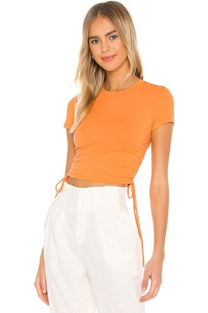 Lovers + Friends Camiseta divine en color talla L en - Orange. Talla L (también en XXS, XS, S, M, XL).