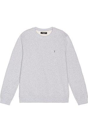 AllSaints Sudadera raven en color gris talla L en - Grey. Talla L (también en S, XL, XS).