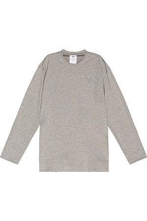 Y-3 Camiseta en color gris talla M en - Gray. Talla M (también en S, XL).