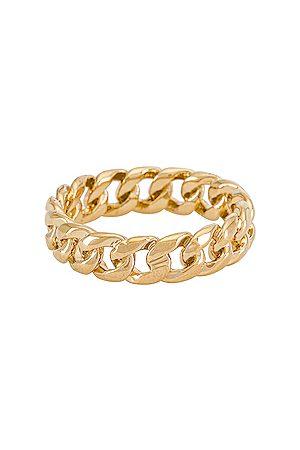 MIRANDA FRYE Anillo rowen en color oro metálico talla 5 en - Metallic Gold. Talla 5 (también en 6, 8).