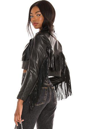 Understated Leather Chaqueta malboro en color talla L en - Black. Talla L (también en XS, S, M).
