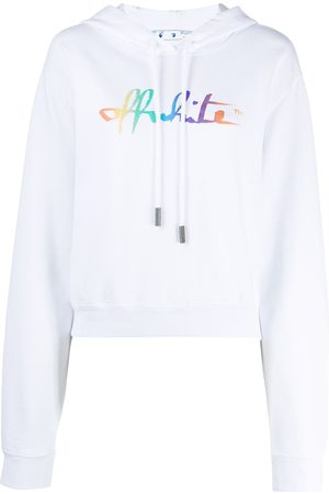 OFF-WHITE Sudadera con logo Rainbow