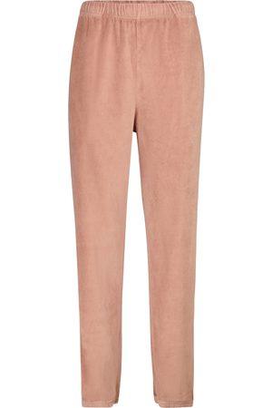 Les Tien Pantalones de chándal de terciopelo