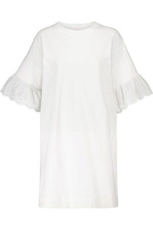 See by Chloé Vestido corto de popelín de algodón
