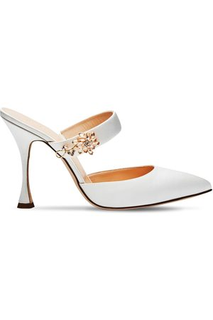 MAGDA BUTRYM | Mujer Zapatos Mules De Satén 105mm 36