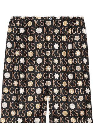 Gucci Bermudas por la rodilla de x Ken Scott
