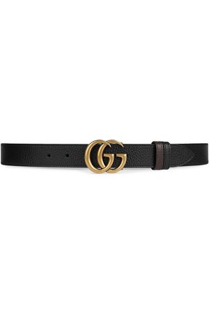 Gucci Cinturón GG Marmont reversible