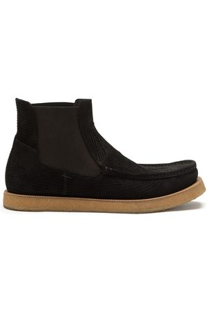 Dolce & Gabbana Printed suede chelsea boots
