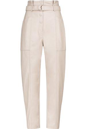 JONATHAN SIMKHAI Pantalones Leela de piel sintética
