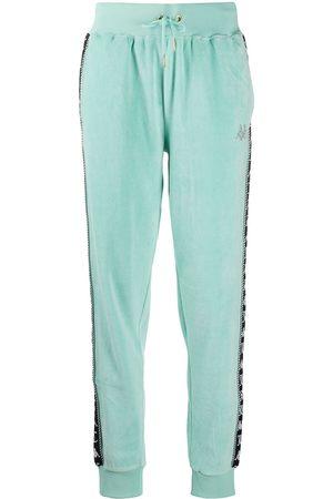 Kappa Pantalones de chándal con franjas del logo