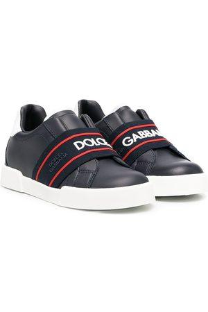 Dolce & Gabbana Zapatillas con correa elástica en la correa