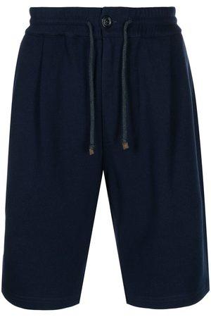 Brunello Cucinelli Drawstring knee-length shorts