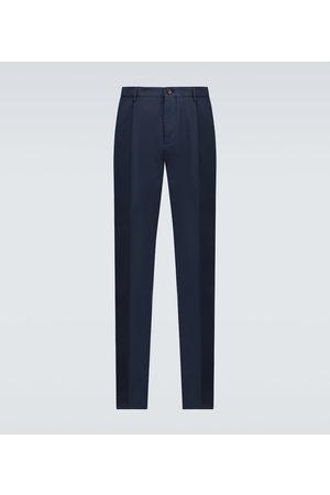Brunello Cucinelli Pantalones chinos teñidos