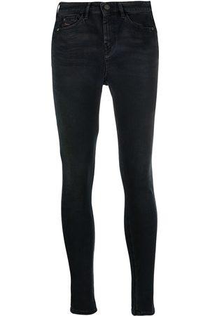 Diesel Mujer Cintura alta - Slandy slim-fit jeans