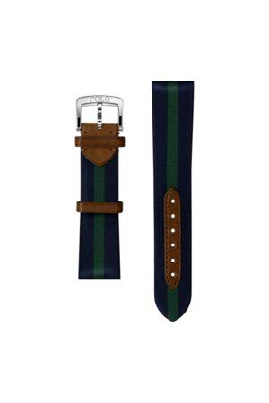 Polo Ralph Lauren Correa de reloj de seda a rayas