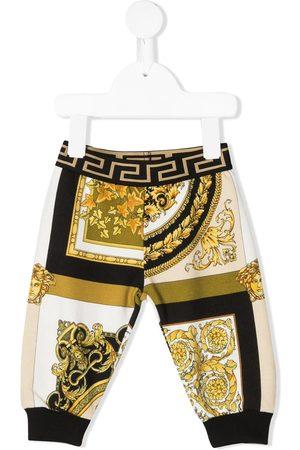 VERSACE Pantalones joggers con motivo Barocco