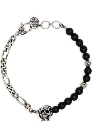 Alexander McQueen Skull chain bead bracelet