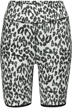 The Upside Shorts Dance estampado de leopardo