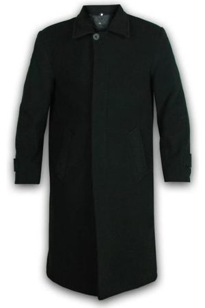 De la creme Abrigo Abrigo largo de invierno de lana y cachemira para hombre