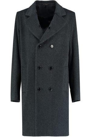 De la creme Abrigo Chaqueta de lana corta de invierno de tweed para mujer