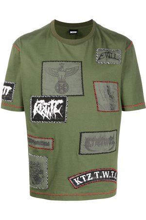 KTZ Camiseta con múltiples parches