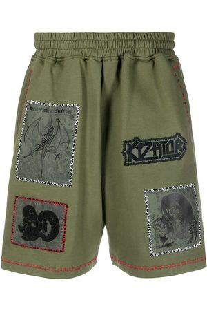 KTZ Pantalones cortos de deporte con parches