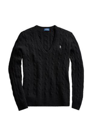Polo Ralph Lauren Mujer Jerséis y suéteres - Jersey de lana y cachemira con punto de ochos